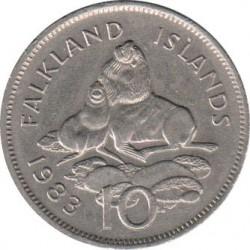 العملة > 10بنس, 1974-1992 - جزر فوكلاند  - reverse