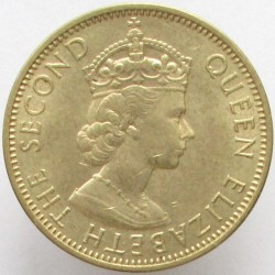 Moneda > ½penique, 1955-1963 - Jamaica  - obverse
