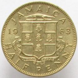Moneda > ½penique, 1955-1963 - Jamaica  - reverse
