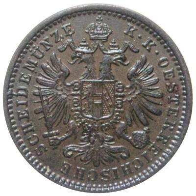 1881 Austria 1 Kreuzer