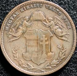 Moeda > 4krajcar, 1868 - Hungria  - obverse