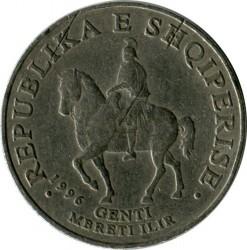 Mynt > 50lekë, 1996 - Albanien  - reverse