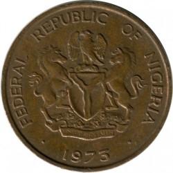 Mynt > 1kobo, 1973-1974 - Nigeria  - obverse