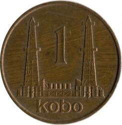 Mynt > 1kobo, 1973-1974 - Nigeria  - reverse