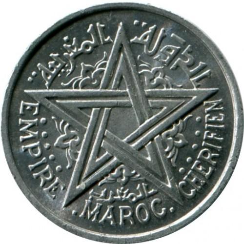 Maroko 1 Frank 1951 Y 46 Katalog Monet