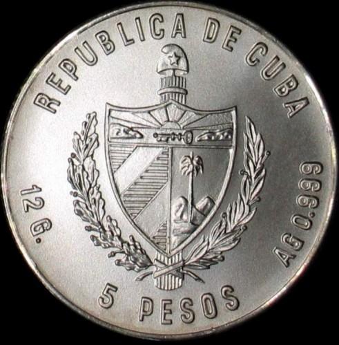 5 Pesos 1980 Moscow80 Olympic Figures In Frames Kuba Münzen