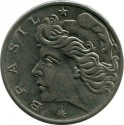 Coin > 1cruzeiro, 1974-1978 - Brazil  - obverse
