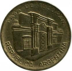 Moneda > 10pesos, 1984-1985 - Argentina  - reverse