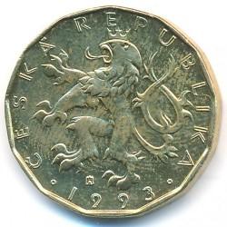 錢幣 > 20克朗, 1993-2018 - 捷克  - obverse