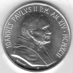 Mynt > 1000lire, 1992 - Vatikanstaten  - obverse