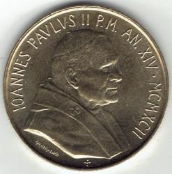 Mynt > 200lire, 1992 - Vatikanstaten  - obverse