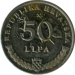 Münze > 50Lipa, 1993-2017 - Kroatien   - obverse