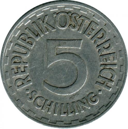 5 Schilling 1952 1957 österreich Münzen Wert Ucoinnet