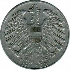 Münze > 5Schilling, 1952-1957 - Österreich   - reverse