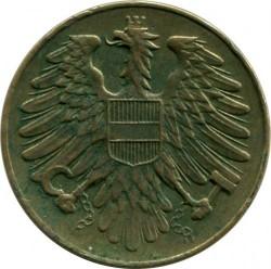 Monēta > 20grašu, 1950-1954 - Austrija  - reverse