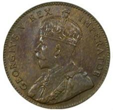 Moneta > ¼piastro, 1922-1926 - Kipras  - reverse