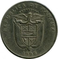 Moneta > 5centésimos, 1996 - Panama  - obverse