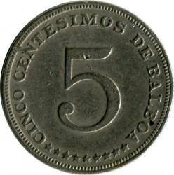 Moneta > 5centésimos, 1996 - Panama  - reverse