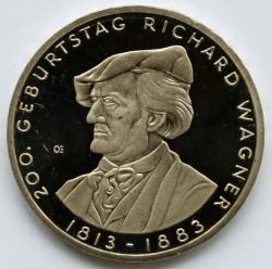 Moeda > 10euro, 2013 - Alemanha  (Bicentenário do Nascimento do Compositor Richard Wagner) - reverse