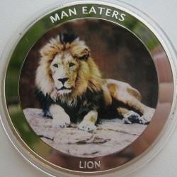 Moneta > 100szylingów, 2010 - Uganda  (Lew) - reverse