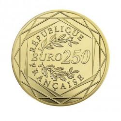 Moneda > 250euros, 2016 - Francia  (Gallo) - obverse