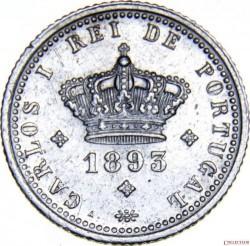 Монета > 50рейса, 1893 - Португалия  - obverse