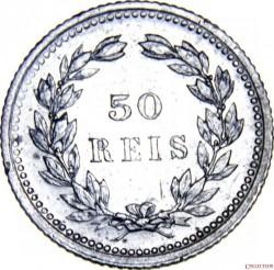 Монета > 50рейса, 1893 - Португалия  - reverse