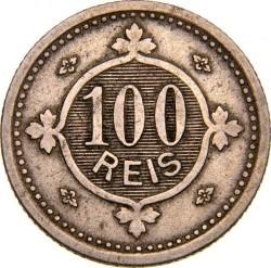 Munt > 100reis, 1900 - Portugal  - reverse