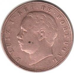 Кованица > 10реиса, 1882-1886 - Португал  - obverse