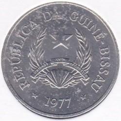 Moneta > 50centavos, 1977 - Gwinea-Bissau  - obverse