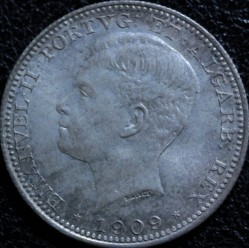 Монета > 200рейса, 1909 - Португалия  - obverse