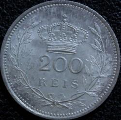 Монета > 200рейса, 1909 - Португалия  - reverse