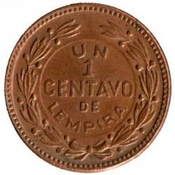 Moneta > 1sentavas, 1954-1957 - Hondūras  - reverse