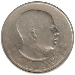 Coin > 1florin, 1964 - Malawi  - obverse