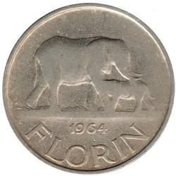 Coin > 1florin, 1964 - Malawi  - reverse