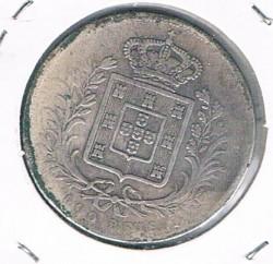 Кованица > 500реиса, 1863-1889 - Португал  - reverse