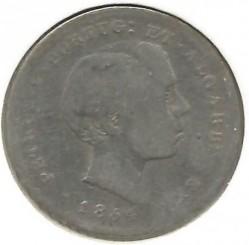 Монета > 100рейса, 1854 - Португалия  - obverse