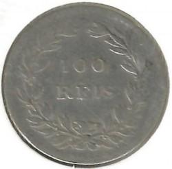 Монета > 100рейса, 1854 - Португалия  - reverse