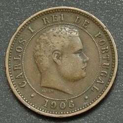 Кованица > 5реиса, 1890-1906 - Португал  - obverse