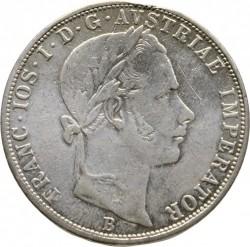 Монета > 2флорина, 1859-1865 - Австрія  - obverse
