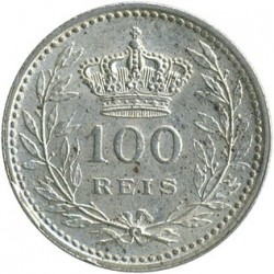Mynt > 100reis, 1909-1910 - Portugal  - reverse