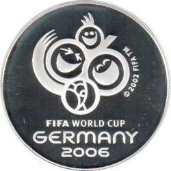 Mynt > 100dollars, 2006 - Trinidad og Tobago  (2006 World Football Cup Germany) - reverse
