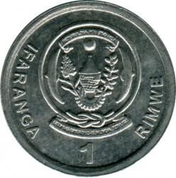 Moneda > 1franco, 2003 - Rwanda  - obverse