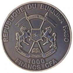 Moneta > 1000franków, 2014 - Burkina Faso  (Lew) - obverse