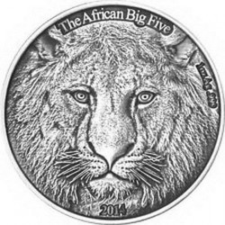 Moneta > 1000franków, 2014 - Burkina Faso  (Lew) - reverse