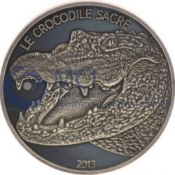 Монета > 1000франков, 2013 - Буркина Фасо  (Крокодил) - reverse