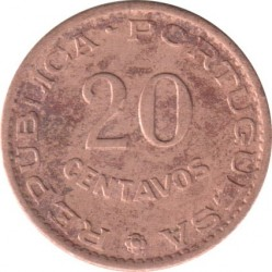 Монета > 20сентавос, 1962 - Сао Томе и Принсипи  - obverse