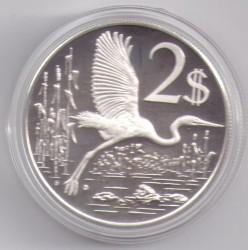 Νόμισμα > 2Δολάρια, 1972-1986 - Νήσοι Κέιμαν  - reverse