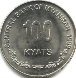Moneta > 100kyats, 1999 - Myanmar  - reverse