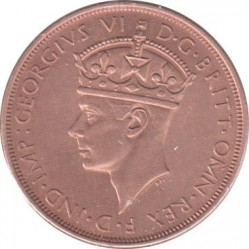 Coin > 1/12 shilling, 1937-1947 - Jersey  - obverse
